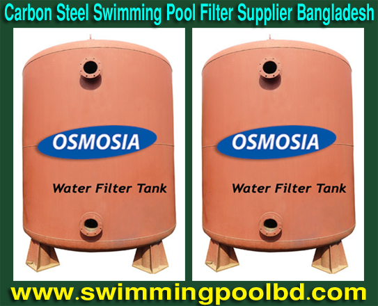 Swimming pool equipment deep bed pool sand filter for Swimming pool bed