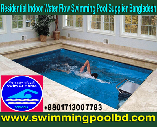 Residential Indoor Water Flow Swimming Pool