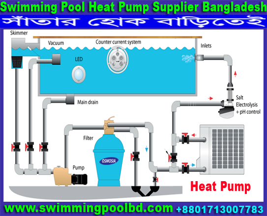 Swimming Pool Equipment Heat Pump Supplier In