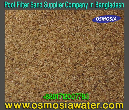 Quartz Sand Water Filter Media Suppliers Company in Bangladesh